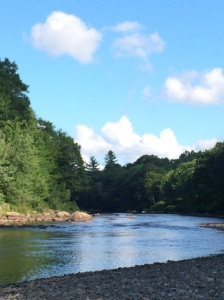 River in August