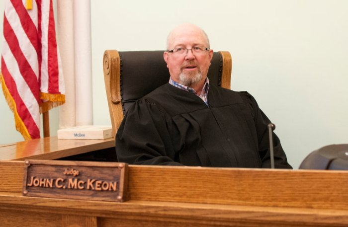 Judge John C. McKeon